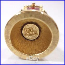 1990's Estee Lauder Hot Air Balloon Compact Fragrance Knowing Solid Perfume