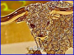 2000 Estee Lauder Perfume Compact Shimmering Steer