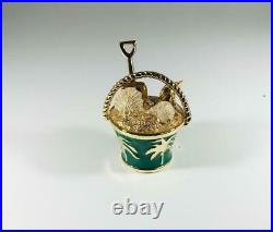 2009 Estee Lauder SENSUOUS PALM BEACH TREASURES PAIL Solid Perfume Compact