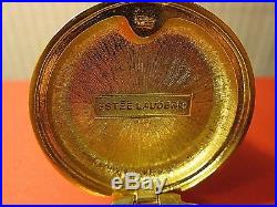 ESTEE LAUDER 1981 Ivory Series IMPERIAL PRINCES solid Perfume compact Box/empty