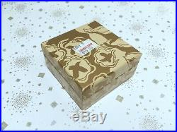 ESTEE LAUDER PRECIOUS PURSE SOLID COMPACT w PRIVATE COLLECTION PERFUME in BOX