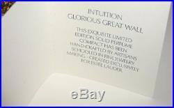 ESTEE LAUDER Solid Perfume Glorious Great Wall CompactBoth Boxes 2007 NIB