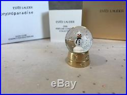 Estee Lauder 06 Solid Perfume Compact Snow Globe Mibb Beyond Paradise