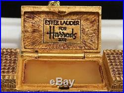 Estee Lauder 2002 HARRODS PALACE Solid Beautiful Perfume Compact