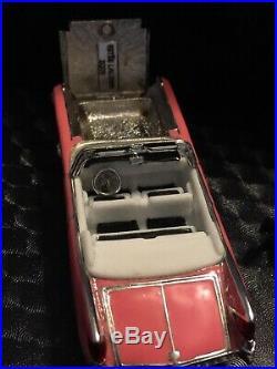 Estee Lauder 2005 Elvis Presley pink Cadillac Solid Perfume Compact