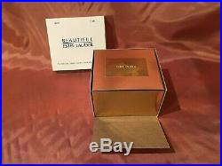 Estee Lauder BEAUTIFUL CINDERLLA'S COACH Solid Perfume Compact with Pouch & Box