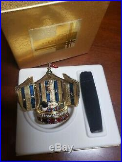 Estee Lauder BEAUTIFUL CIRCUS TENT Solid Perfume Compact with Pouch NIB