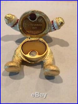 Estee Lauder Beautiful 2011 Harrods Christmas Bear Solid Perfume Compact