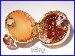 Estee Lauder Beautiful Jingle Bell Solid Perfume Compact 2007