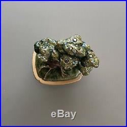 Estee Lauder Bonsai Tree 2007 & Chinese Junk 2003 Solid Perfume Compact