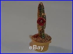 Estee Lauder Cactus Solid Perfume Compact Pleasures 2001