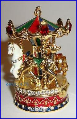 Estee Lauder Carousel Solid Perfume Compact 2015 Empty Ub
