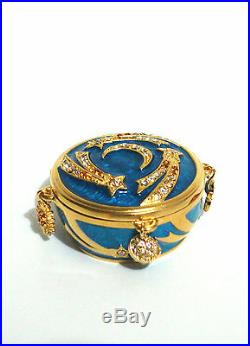 Estee Lauder Celestial Charms Solid Perfume Compact 2012 Strongwater Ub