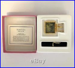 Estee Lauder Compact Solid Perfume BEAUTIFUL WEEKEND ARTIST withBoxes