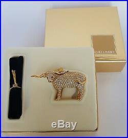 Estee Lauder Dazzling GOLD Shimmering Steer Solid Perfume Compact NIB 2000
