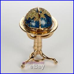 Estee Lauder GLOBE Solid Perfume Compact 2002 Collection