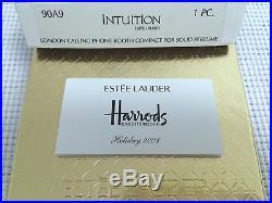 Estee Lauder Harrods 1/400 London Phone Solid Perfume Compact Vtg Rare Mib