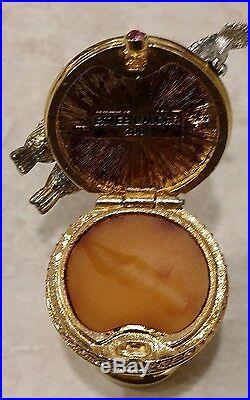 Estee Lauder Intuition PRECIOUS BIRD BATH Solid Perfume Compact