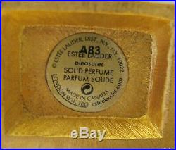 Estee Lauder LITTLE RED BARN Solid Perfume Compact 1/600 Label Perfect MIBB