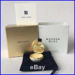 Estee Lauder Modern Muse Shimmering Sea Urchin Solid Perfume Compact New In Box