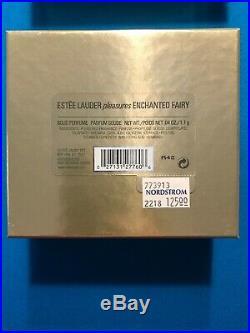 Estee Lauder Pleasures Enchanted Fairy UMBRELLA Solid Perfume Compact NIB 2002