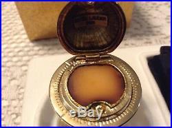 Estee Lauder Pleasures GLOBE Solid Perfume Compact 2001 MIB