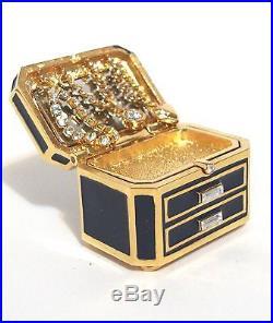Estee Lauder Precious Jewels Solid Perfume Compact Tuberose Gardenia 2014 Nib