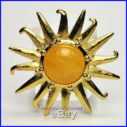 Estee Lauder RADIANT SUN Compact for Solid Perfume 2012 Collection NIB