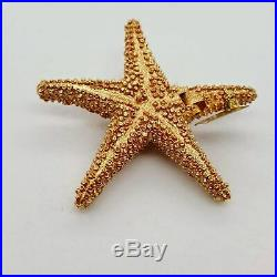 Estee Lauder Shimmering Starfish Solid Perfume Compact Beautiful Fragrance 2-5/8