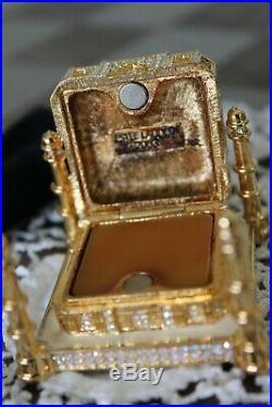 Estee Lauder Solid Perfume Compact Bejeweled Taj Mahal