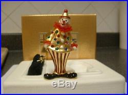 Estee Lauder Solid Perfume Compact Circus Clown MIBB