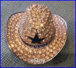 Estee Lauder Solid Perfume Compact Cowboy Hat