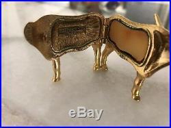Estee Lauder Solid Perfume Compact Crystal Longhorn 2001