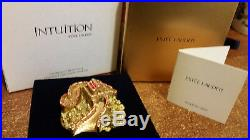 Estee Lauder Solid Perfume Compact Glorious Great Wall Both Boxes