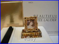 Estee Lauder Solid Perfume Compact Jay Strongwater Romantic Edition 2 Boxes