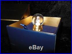 Estee Lauder Solid Perfume Compact Rare Snowman Water Globe Beyond Paradise Mib