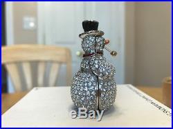 Estee Lauder Solid Perfume Compact Sparkling Snowman Mibb Beautiful