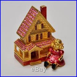 Estee Lauder Solid Perfume Compact Victorian Dollhouse MIB