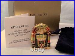 Estee Lauder Solid Perfume Compacts / JEWELED JUKEBOX, by Jay Strongwater