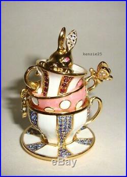 Estee Lauder Wonderland Tea Party Solid Perfume Compact 2018 Teacup Empty Ub