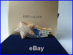 Estee Lauder solid perfume compact 2012 Shooting Star by Strongwater