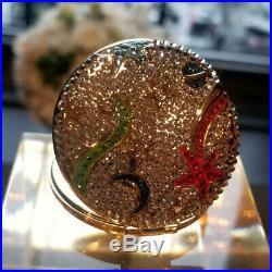 Lmtd. New 2019 Estee Lauder Solid Perfume Powder Compact Celestial Dreams MIBB