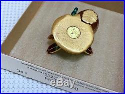 NIB ESTEE LAUDER JAY STRONGWATER DRAGONFLY SOLID PERFUME COMPACT in Orig. BOX es