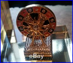 New 2019 Estee Lauder Solid Perfume Compact Royal Roulette MIBB
