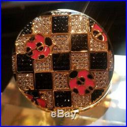 New 2019 Estee Lauder Solid Perfume Powder Compact Lucky Ladybug MIBB