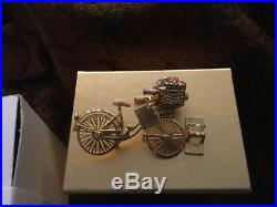 New in Box Estee Lauder Solid Perfume Compact Spirited Bike Ride 2008 RARE