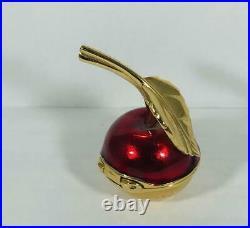 PROTOTYPE 2001 Estee Lauder BEAUTIFUL RED CHERRY Solid Perfume Compact