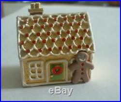 PROTOTYPE Estee Lauder Solid Perfume Compact Gingerbread House LOOK