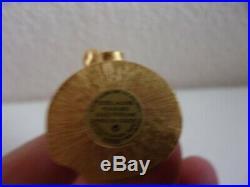 Pre-owned ESTEE LAUDER SPARKLING MERMAID SOLID PERFUME COMPACT PLEASURES 2000