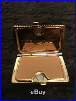 RARE Vntg Estee Lauder Tom Ford Collection Amber Nude Compact Solid Perfume 2005